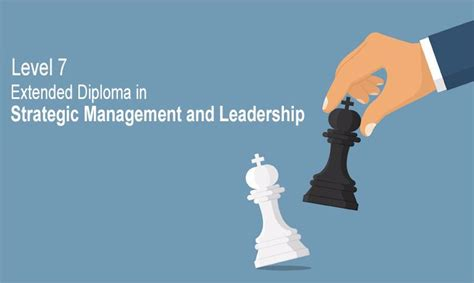 Mba In Strategy And Leadership by Pre Mba Level 7 Extended Diploma In Strategic Management