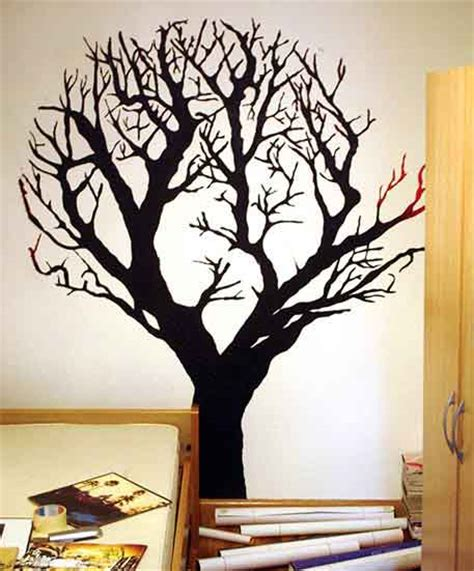how to paint murals on walls how to paint a tree mural freshome
