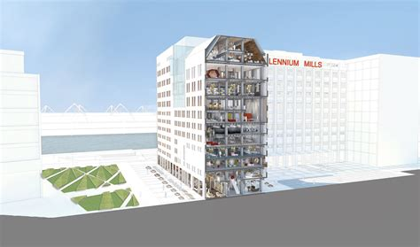 millennium mills   clear londons royal docks