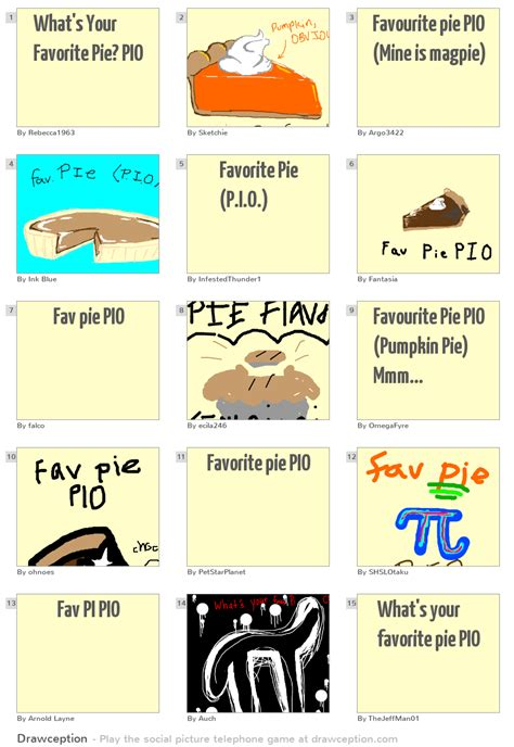 What Is Your Favorite Of Pie by What S Your Favorite Pie Pio