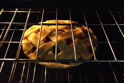 What Rack To Bake Pie On strawberry apple pie with sweet butter cornmeal crust
