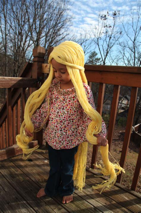 rapunzel tutorial wig rapunzel wig sew like my mom