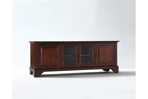 Lafayette 60 Quot Low Profile Tv Stand In Vintage Mahogany Low Profile Tv Cabinet