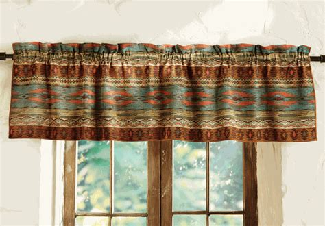 Southwest Kitchen Curtains Saguaro Trail Southwest Valance