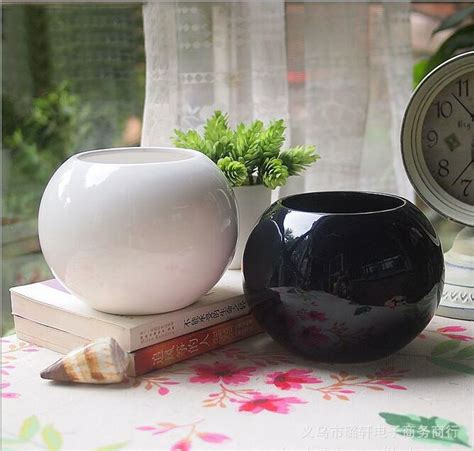 ingrosso vasi ceramica acquista all ingrosso nero vaso di ceramica da