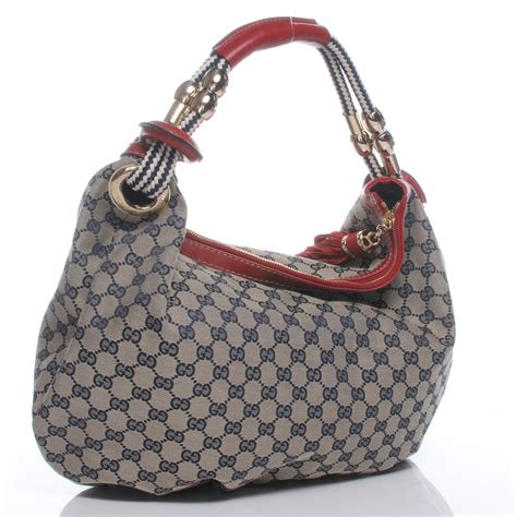 Roberto Cavalli Acapulco Large Hobo by Gucci Monogram Acapulco Medium Hobo Navy 46539
