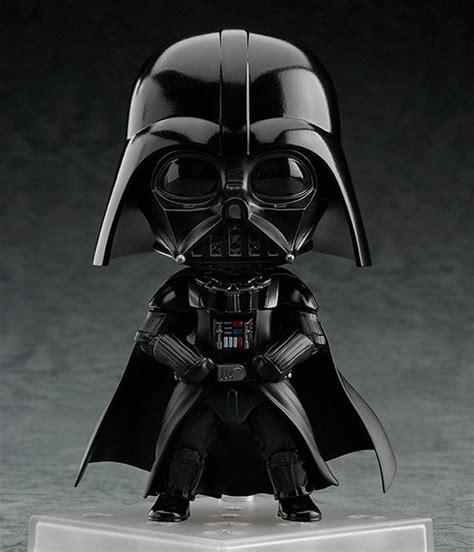 bonecos nendoroid wars darth vader e stormtrooper