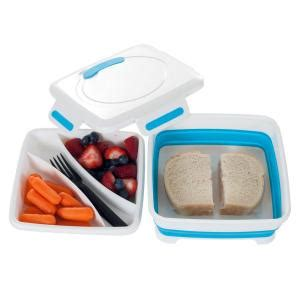 square expandable lunch box with dividers 85 hh093 the