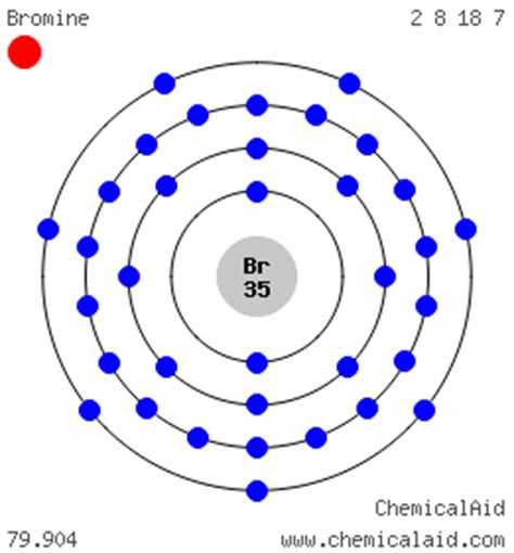 lewis dot diagram for bromine bromine br