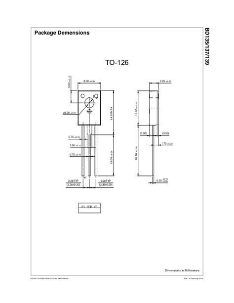 transistor bd137 datasheet transistor bd137 datasheet 28 images bd137 datasheet pdf nxp semiconductors bd135 bd139