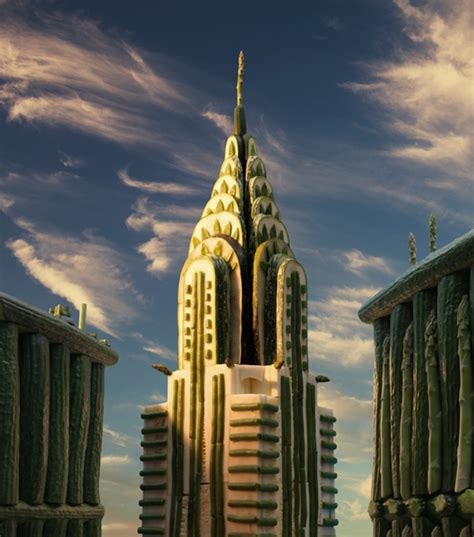 Mini Arsitektur Chrysler Building chrysler building by carl warner photography from