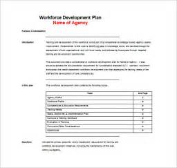 workforce plan template exle free plan templates word pdf documents