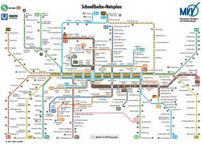 Munich Metro Map by Metro Map Of Munich Metro Maps Of Germany Planetolog Com