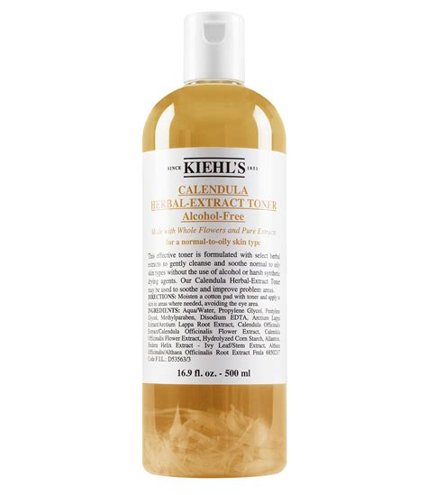 kiehl s since 1851 calendula herbal extract free toner dillards