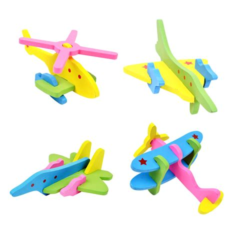 Diy Children Toys Child Disassembly And Assembly Airplane popular 3d airplane model buy cheap 3d airplane model lots from china 3d airplane model