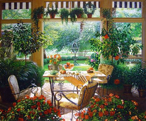 Garden Room Design Ideas Decorating A Garden Room Homey Garden