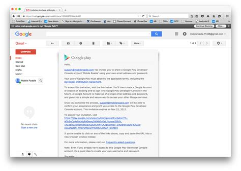 android developer account how to accept invitation on gmail premium invitation template design by 2 feathers tipi