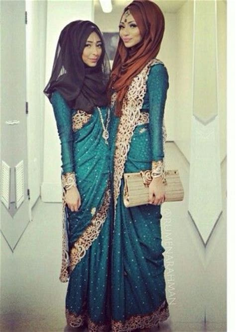 12 modest saree style designs for muslim for chic look