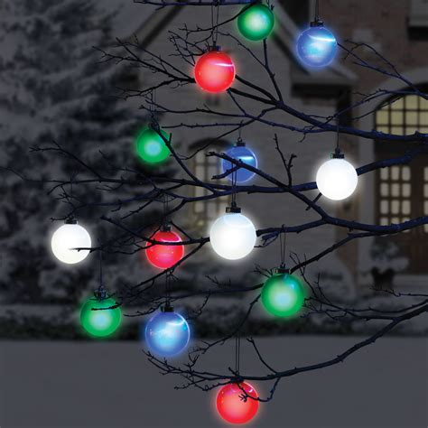 Cordless Outdoor Lighting Cordless Outdoor Lighted Ornaments The Green