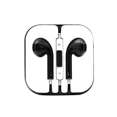 Headset Apple Iphone 5 headphones headset for apple iphone 4 4s 5 5s 5c new w mic earphones ebay
