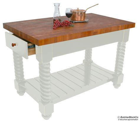 kitchen island boos boos cherry end grain butcher block kitchen island