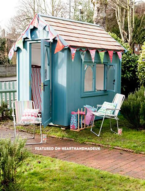 Pretty Garden Sheds Uk by In Need Of Shed Color Ideas Check Out These Pretty
