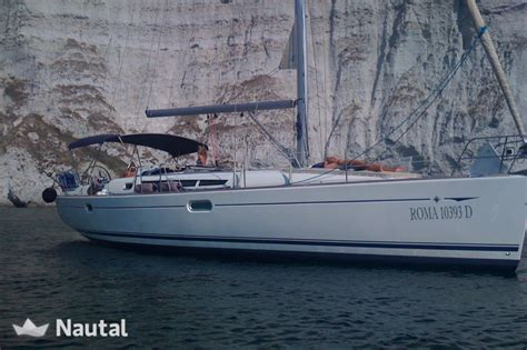 sailing boat jeanneau sailing boat rent jeanneau sun odyssey 45 in nettuno