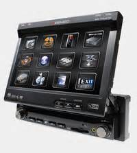 Singledin Dvd Usb Radio Merk Dhd Car Audio 1 din klapschermen carmusic