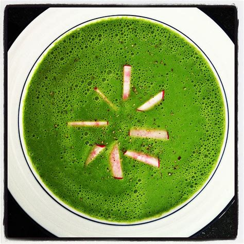Detox Cucumber Soup Recipe by Chilled Cucumber Spinach Detox Soup Sprint 2 The Table