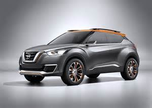 Suv Concept Nissan Reveals Kicks Mini Suv Concept At Brazil Indian