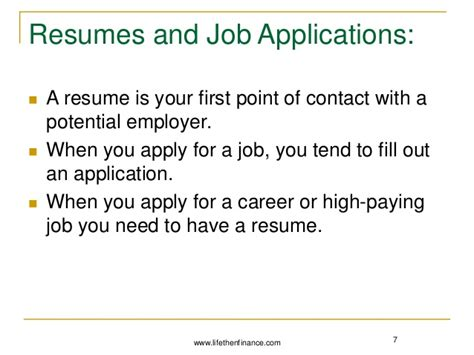 difference between application and resume resume ideas