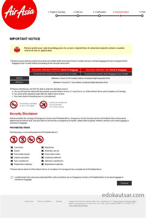 airasia nomor telepon pengalaman web check in maskapai airasia indonesia edo