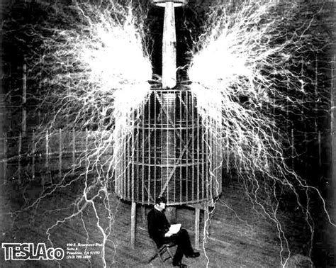 Nikola Tesla Transformer Template 1