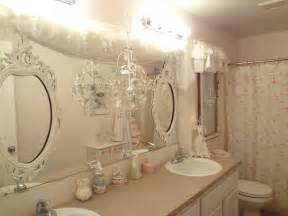 Girly Window Curtains Decorating Girly Bathroom Ideas