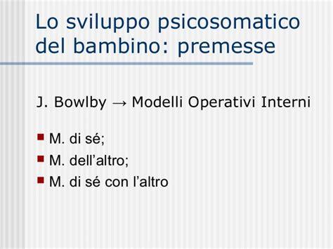 modelli operativi interni modelli operativi interni la teoria dell attaccamento