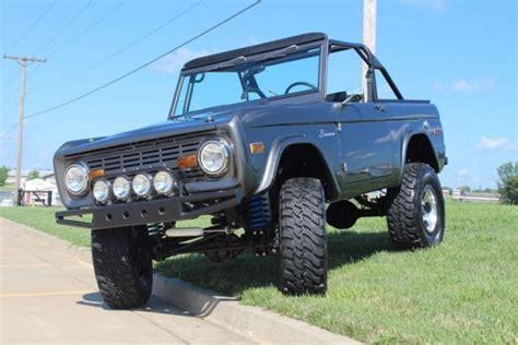 Car Cover For Early Bronco 1975 Ford Bronco 4x4 Resto Mod 2016 Lmc Catalog