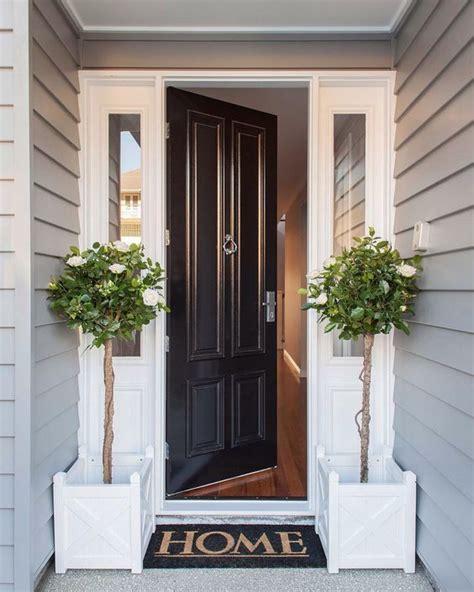 cool front door designs  sidelights shelterness