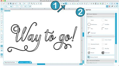 sketchbook text tool all things text tool silhouette studio 174 tutorial