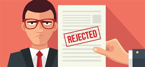 why your application was rejected