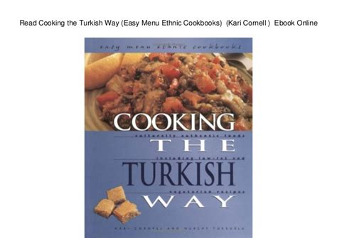 Rice Cooker Ichiko read cooking the turkish way easy menu ethnic cookbooks kari corn