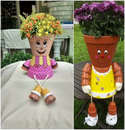 clay pot crafts for the garden 10 cool clay pot garden crafts for you to try