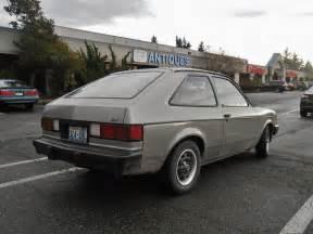 seattle s parked cars 1983 chevrolet chevette