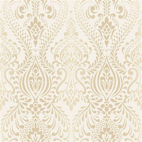 Cream And Gold Wallpaper Next   graham brown glamour damask cream gold wallpaper