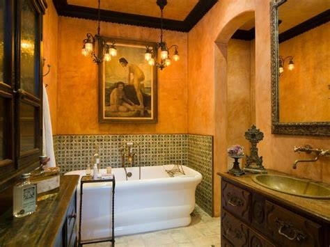Colonial Home Interiors Spanish Bath Ba 241 O Hacienda Pinterest Spanish Bath