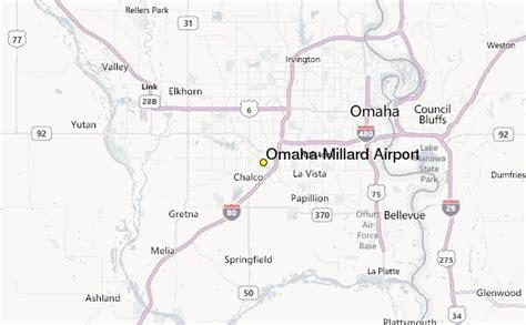 location map omaha ne omaha millard airport weather station record historical