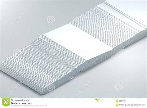 Many Cards Template To Presentation Stock Photo Cartoondealer Com 56399778 Presentation Note Cards Template