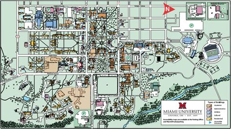 map of miami oxford facilities miami
