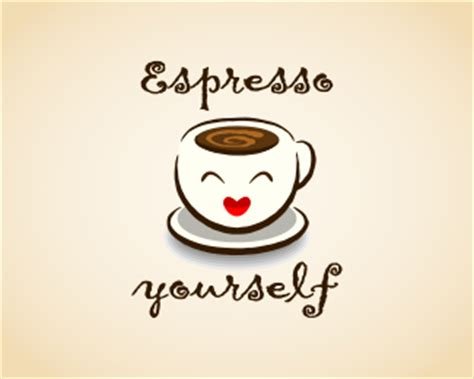 design a logo by yourself espresso yourself designed by gnurf brandcrowd