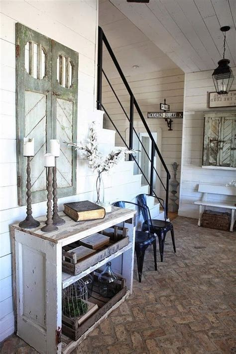 chip and joanna gaines farmhouse address best 25 staircase railings ideas that you will like on