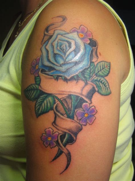 rose band tattoo and band by hex grinder on deviantart